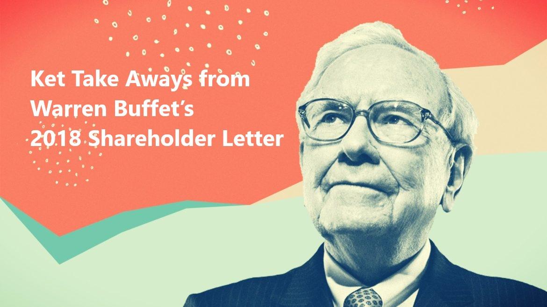 8 Learnings from Warren Buffet's 2018 Shareholder Letter